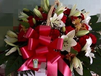 ramos de flores para la ofrenda del pilar