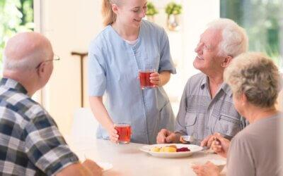 Residencias. El valor social de la hora de comer.