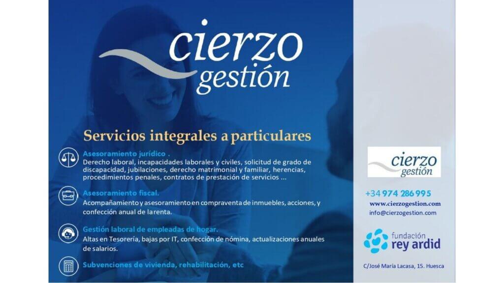 Asesoría en Huesca Cierzo gestión