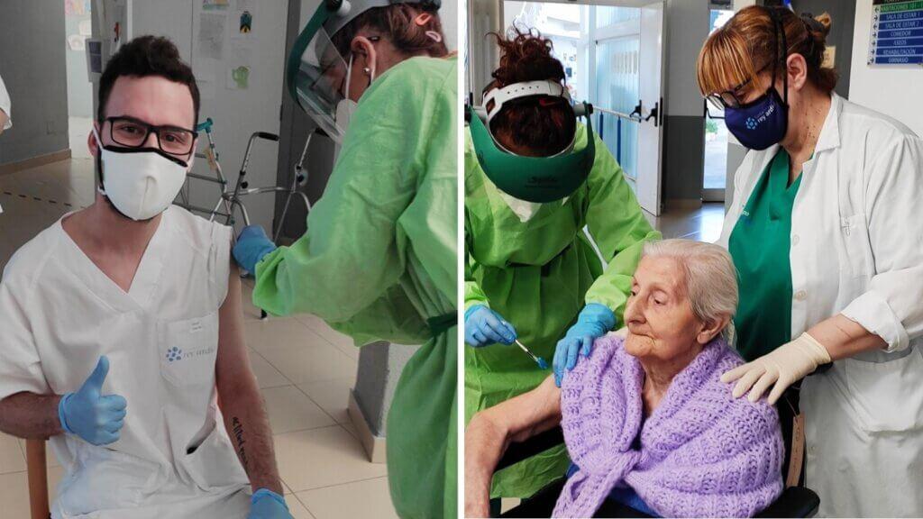 Vacunas Covid en Fundación Rey Ardid