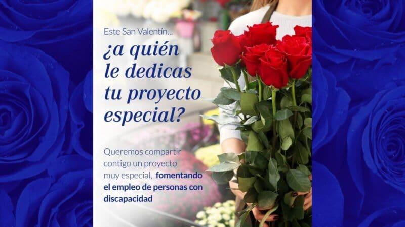 Regalar flores en San Valentín con Floristería Emprey