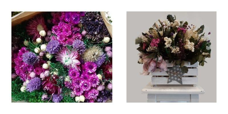 Flores Emprey Día Internacional de la mujer