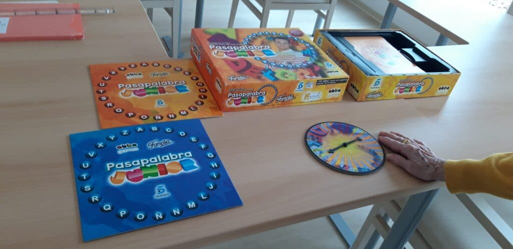 Estimulación coginitiva a través del juego en personas con demencia Fundación Rey Ardid